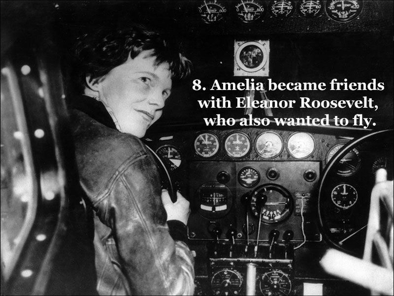 Eleanor Roosevelt and Earhart