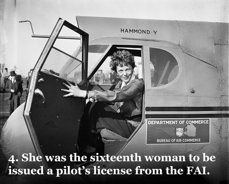 Earhart Early Female Pilots