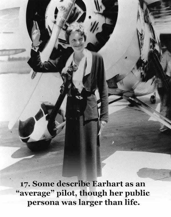 Interesting Amelia Earhart Facts