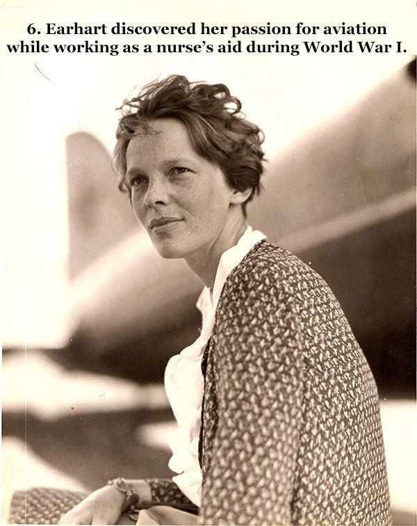 Amelia Earhart Facts Public Persona