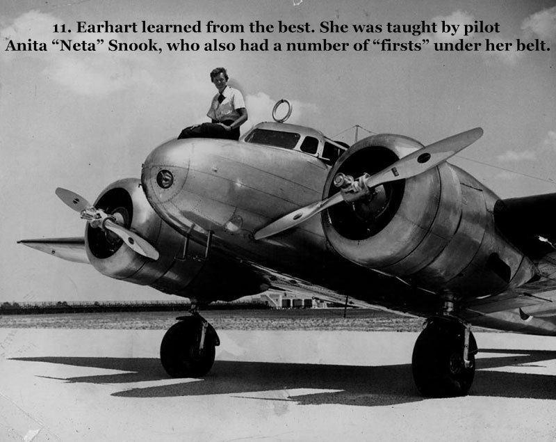 Pilot Amelia Earhart Facts