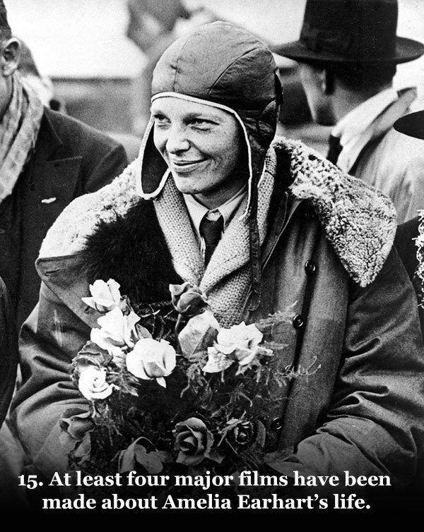 Earhart, Amelia in England