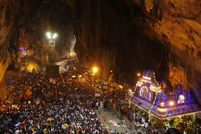 Batu Caves Thaipusam Underground