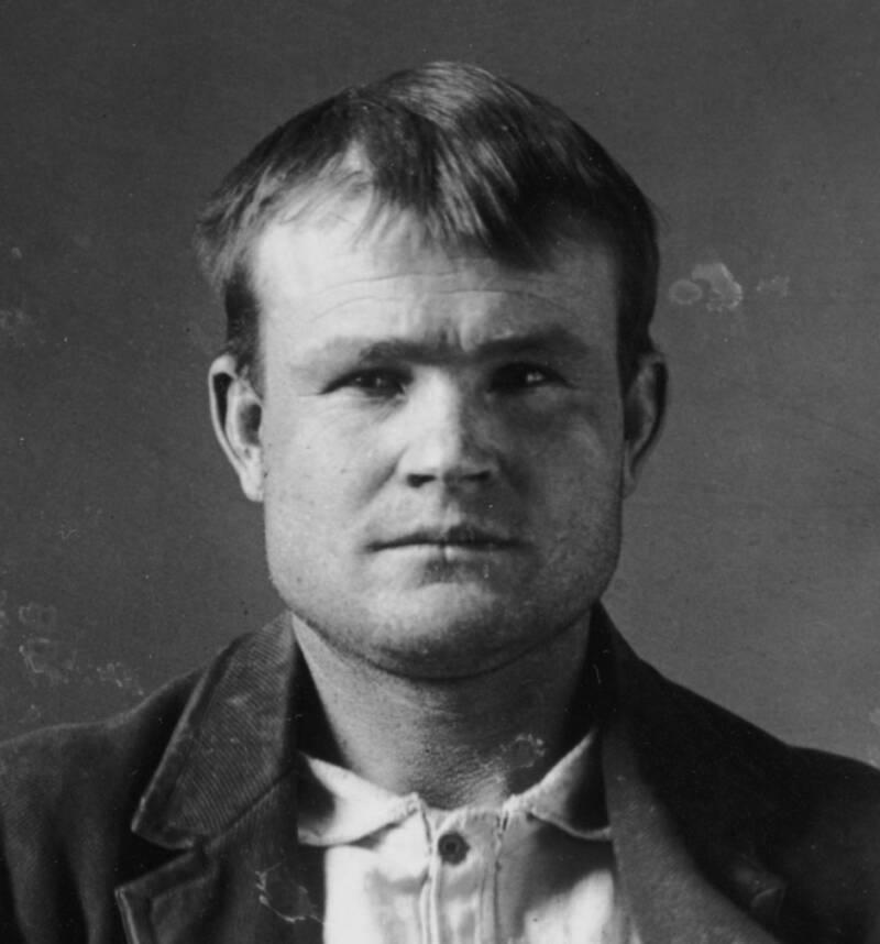 Butch Cassidy Mugshot