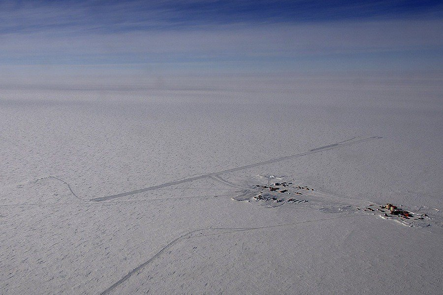 Concordia Station Aerial View