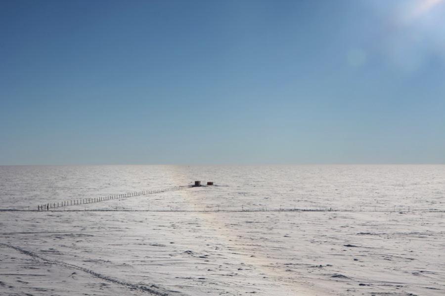 Concordia Station In Antarctica