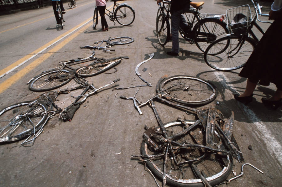Destroyed Bicycles