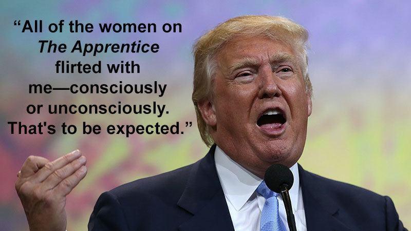 Donald Trump Discusses The Apprentice