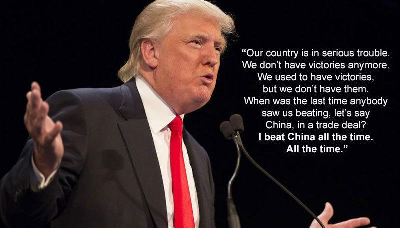 Donald Trump On Trade Deals
