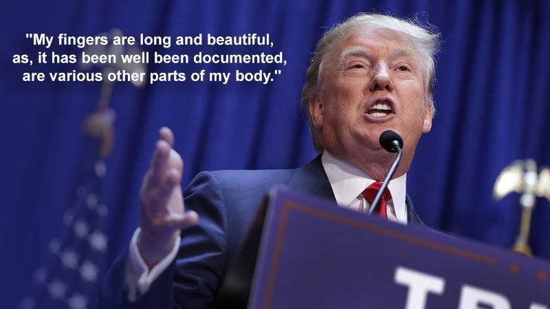 Hilarious Donald Trump Quotes