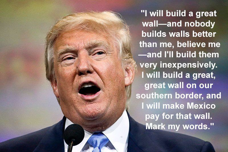 Building A Wall Between Mexico And America