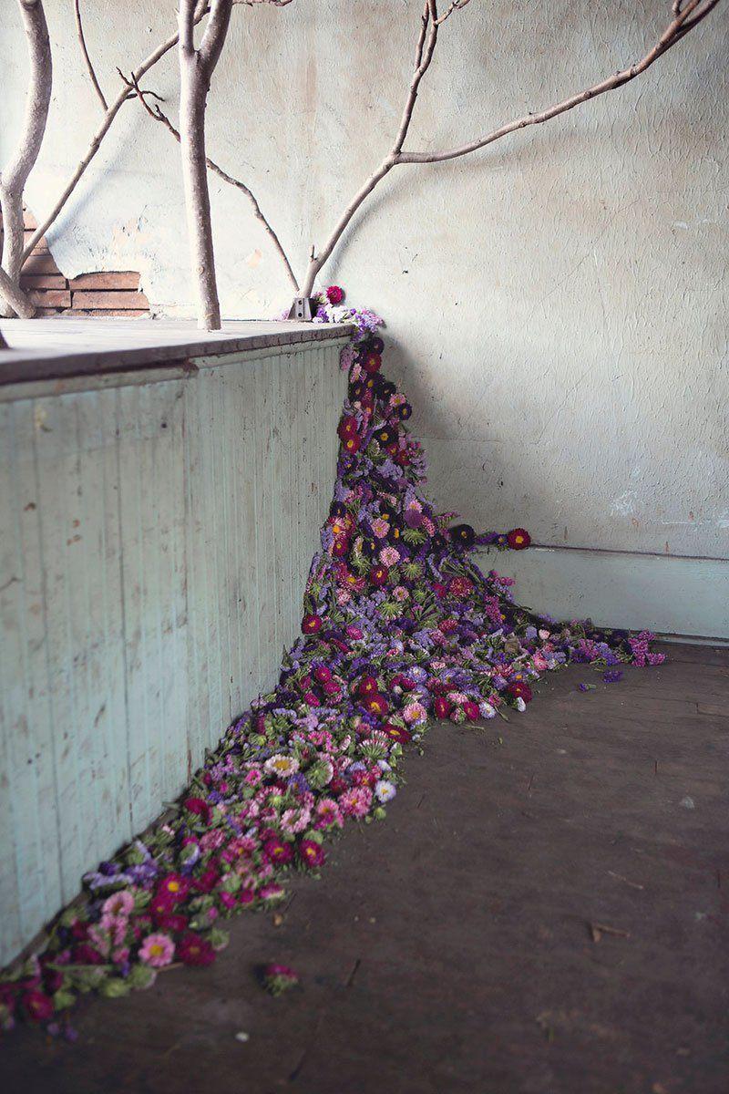 Flower House Art Installation