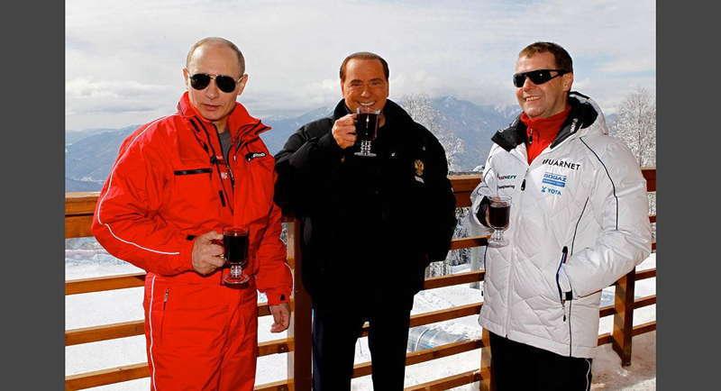 Glamorous Putin Apres Ski
