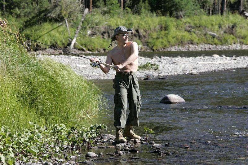 Glamorous Putin Casting Yenisei