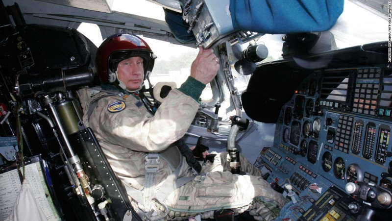 Glamorous Putin Cockpit