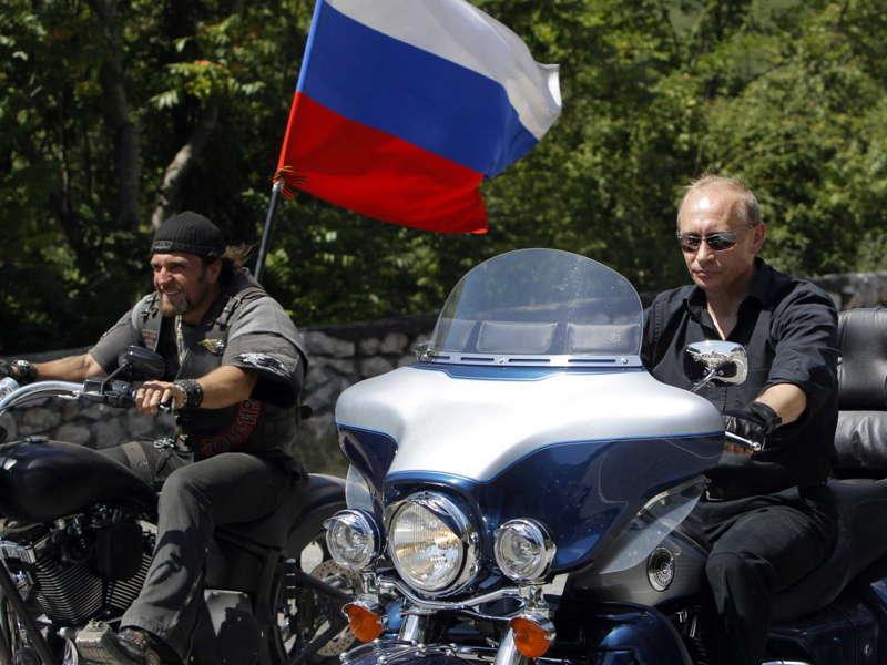 Glamorous Putin Crimea