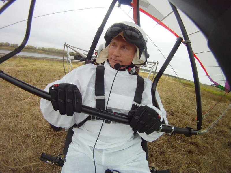 Glamorous Putin Delta Plane