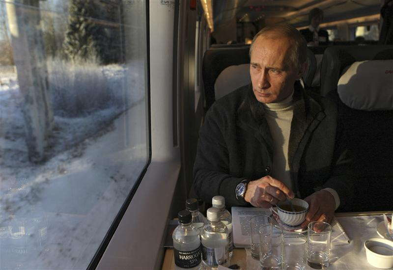 Glamorous Putin High Speed