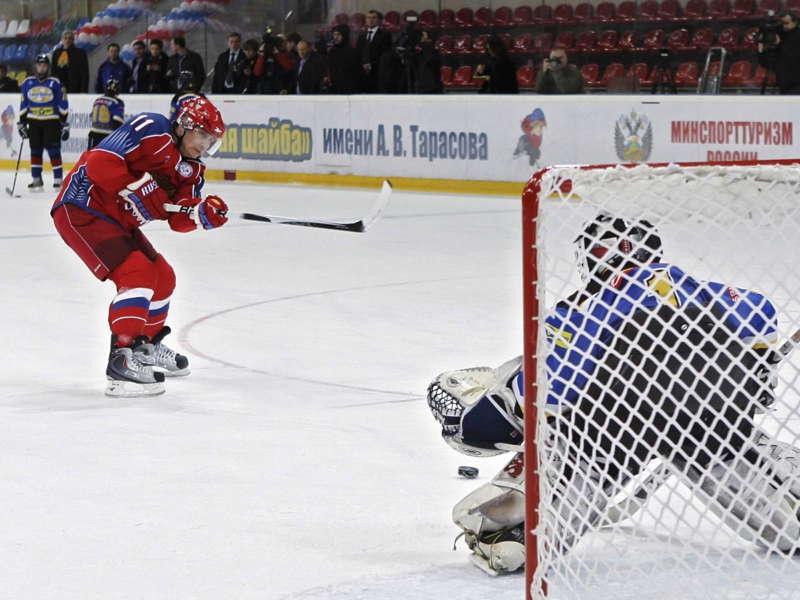 Glamorous Putin Hockey