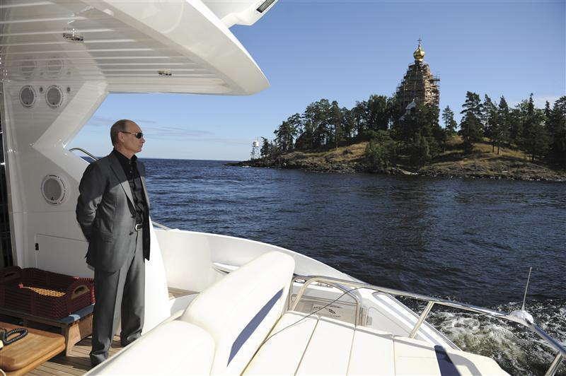 Motorboat Karelia