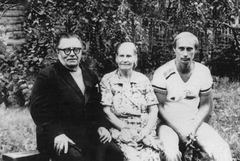 Putin And Parents