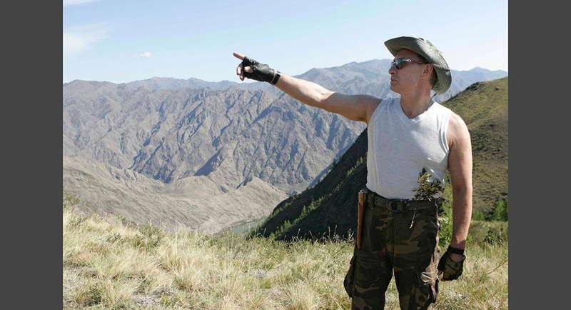 Putin Pointing