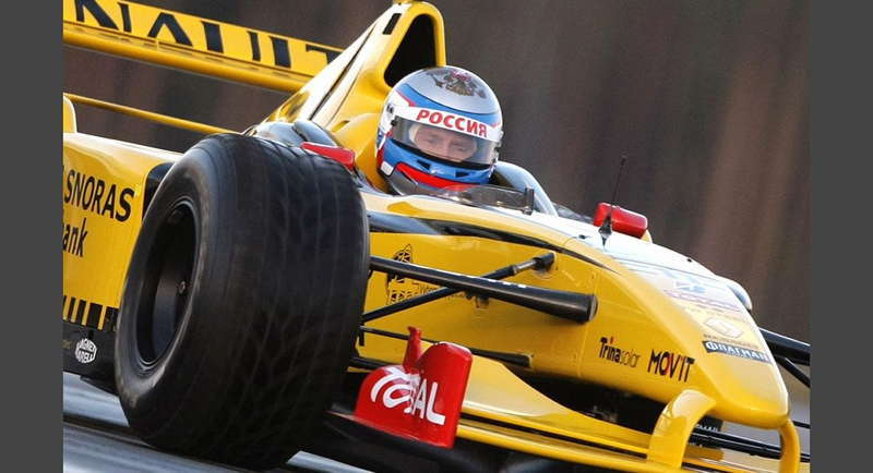 Putin In Racecar