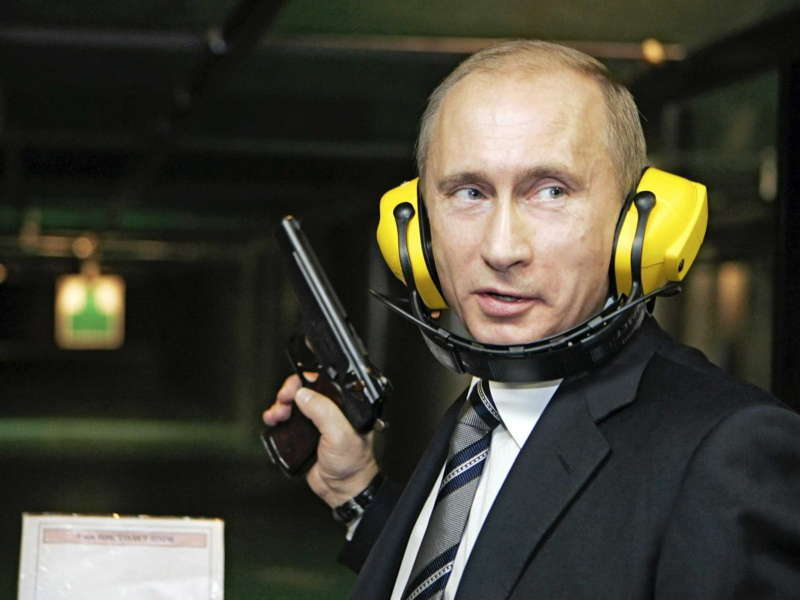 Putin Shooting Gallery