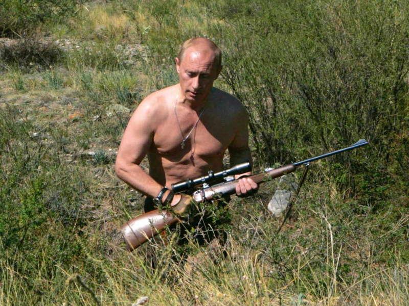 Putin Tuva Gun