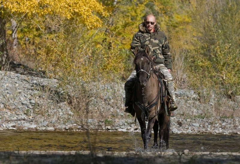 Putin Ubsunur Horse