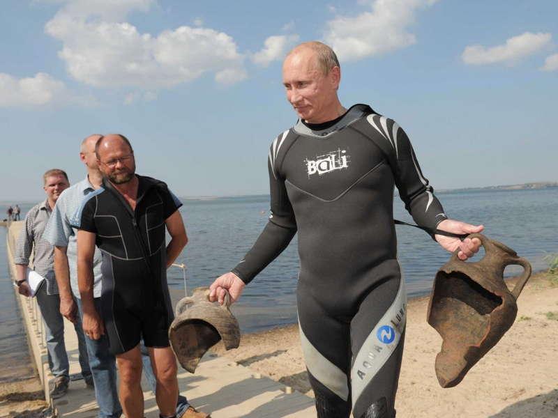 Putin Wetsuit
