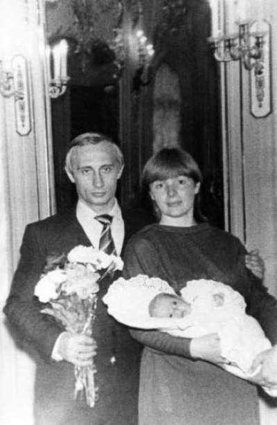 Putin With Wife