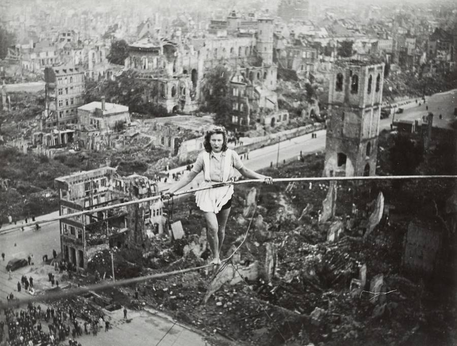 Highwire Over Cologne 1946