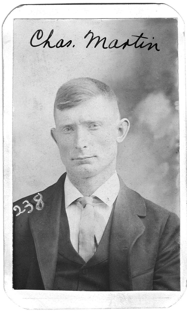 Vintage Booking Photo