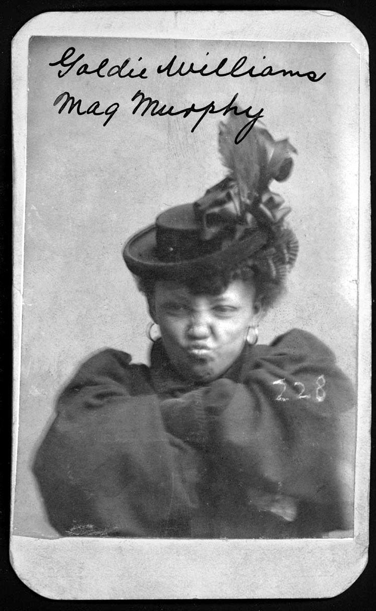 Mugshot Of Woman