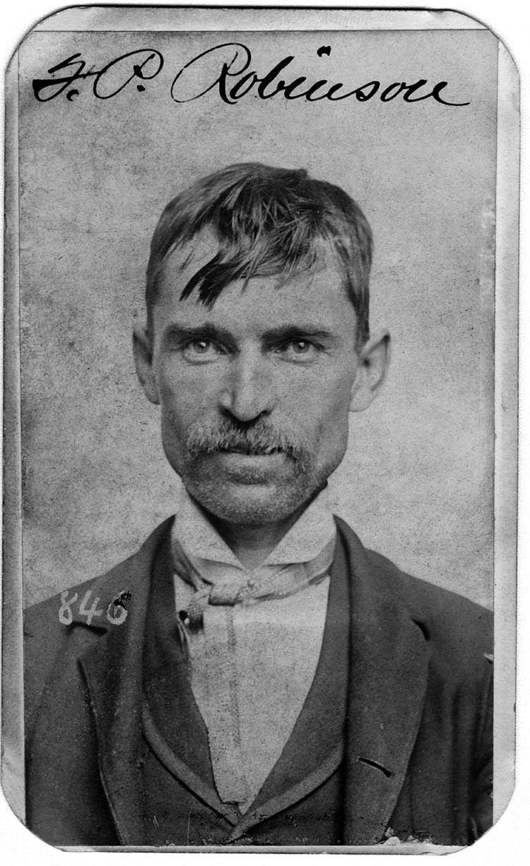 historic mugshots JP Robinson