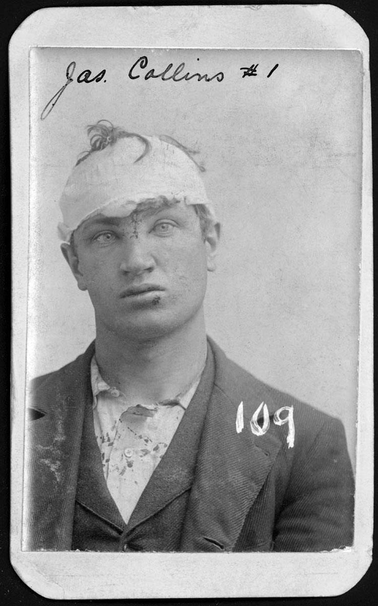 Man With Bandaged Head