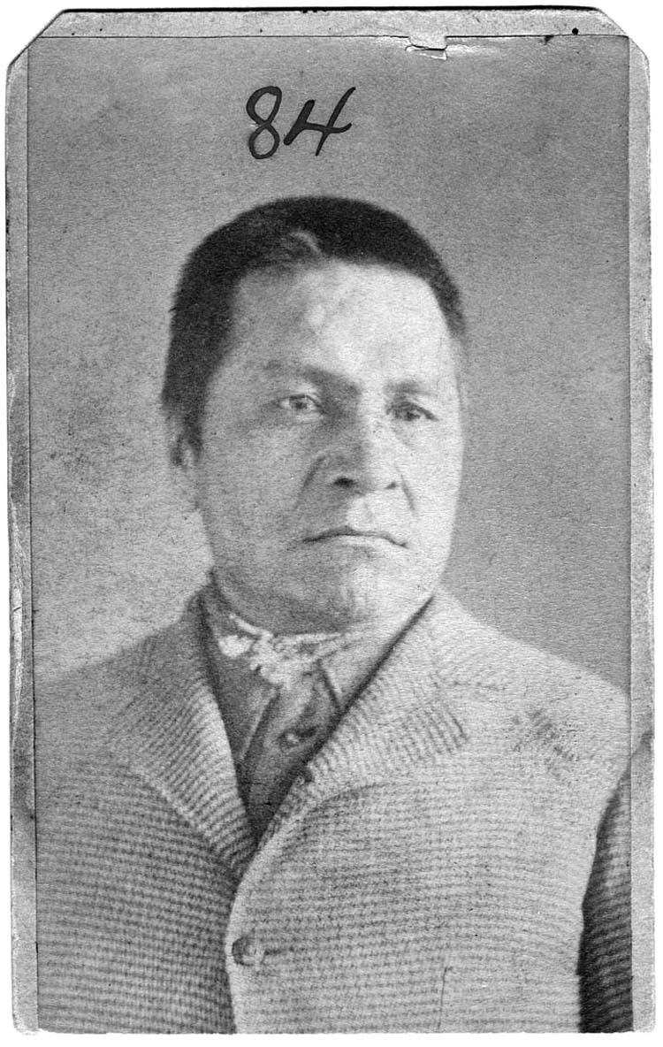 Old Booking Photo