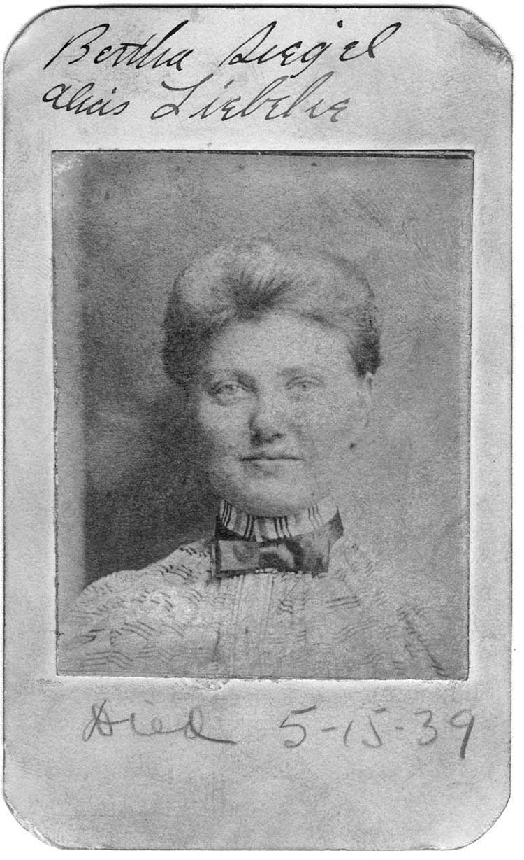 Bertha Liebbeke Mugshot