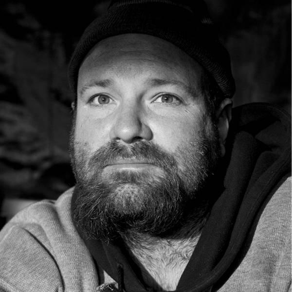 Homeless Portrait Beard Hoodie