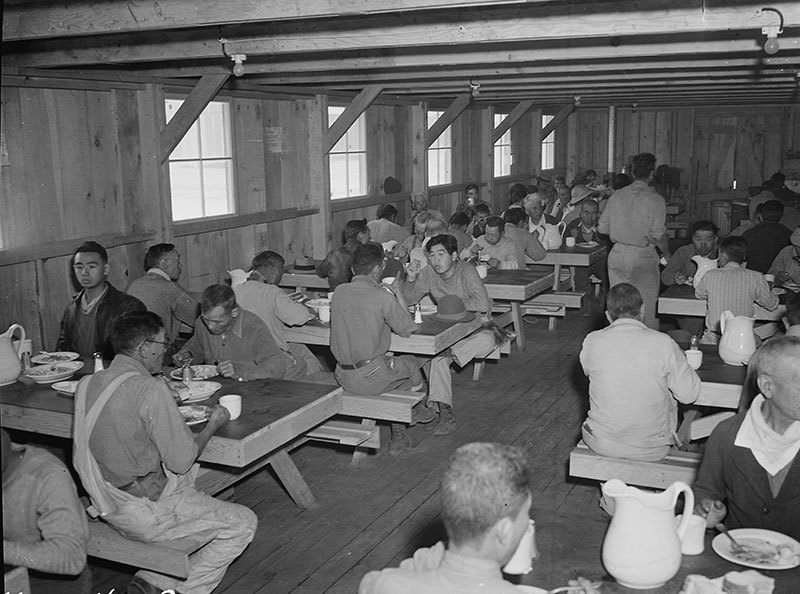 Manzanar Relocation Center Lunchtime