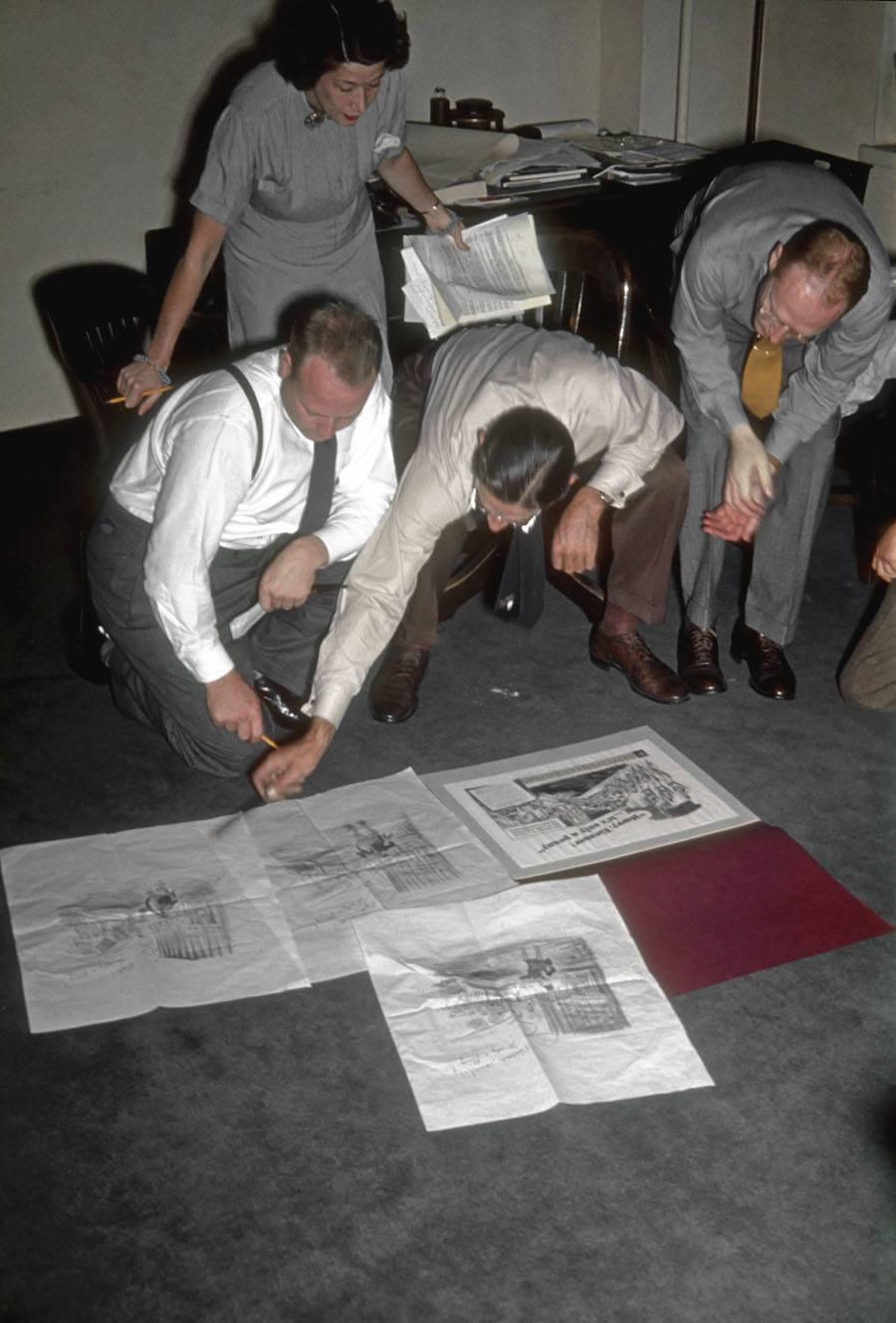 original mad men floor view