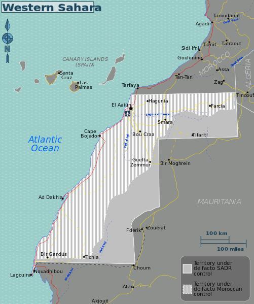 Polisario Map