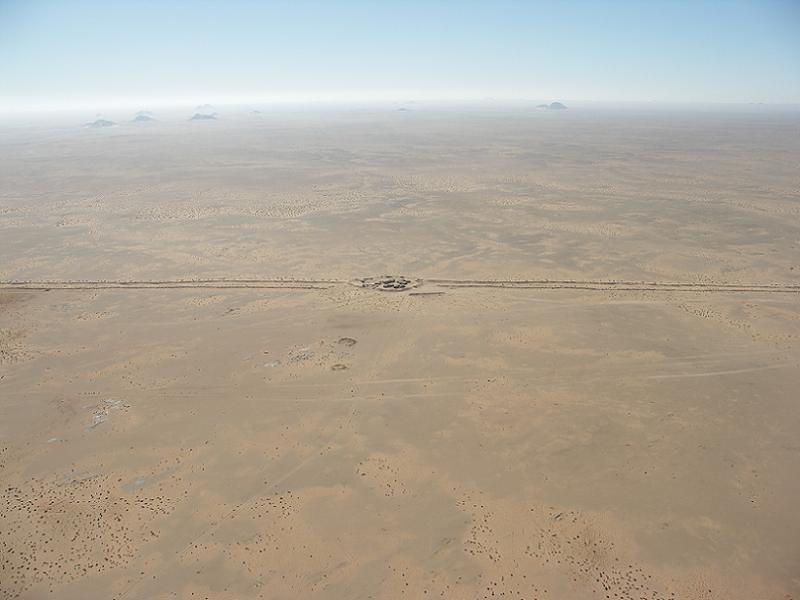 Polisario Aerial Wall