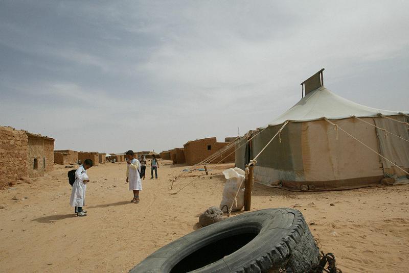 Polisario Tent Kids