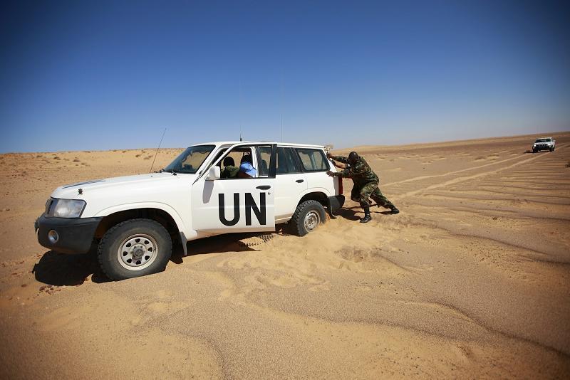 Polisario UN Stuck
