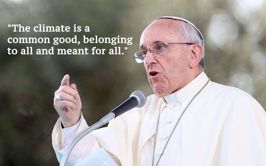 Pope Francis Climate Change Quotes Blur