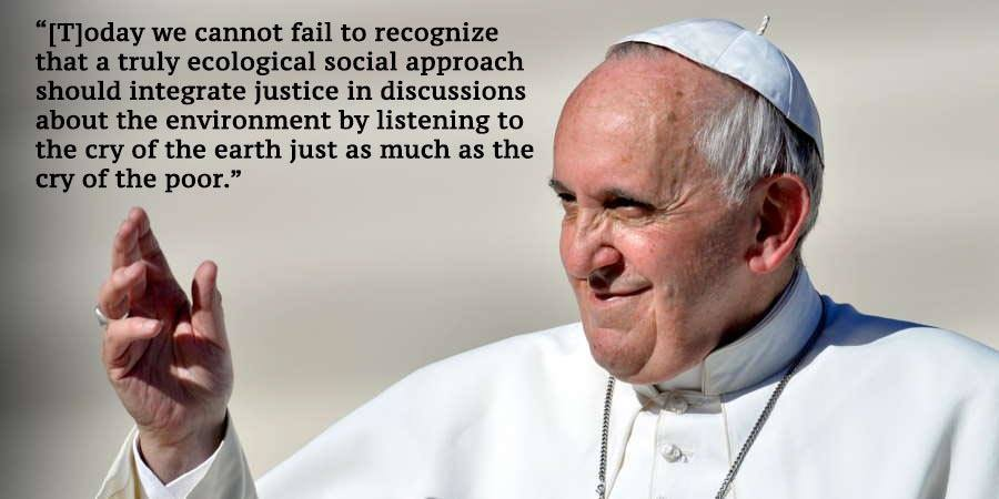 Pope Francis Climate Change Quotes Close