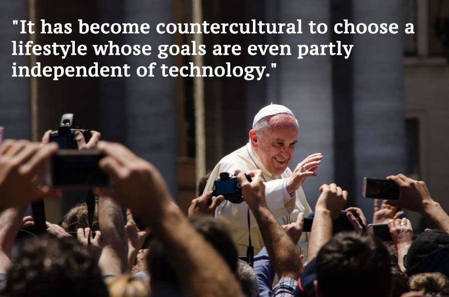 Pope Francis Climate Change Quotes Crowd