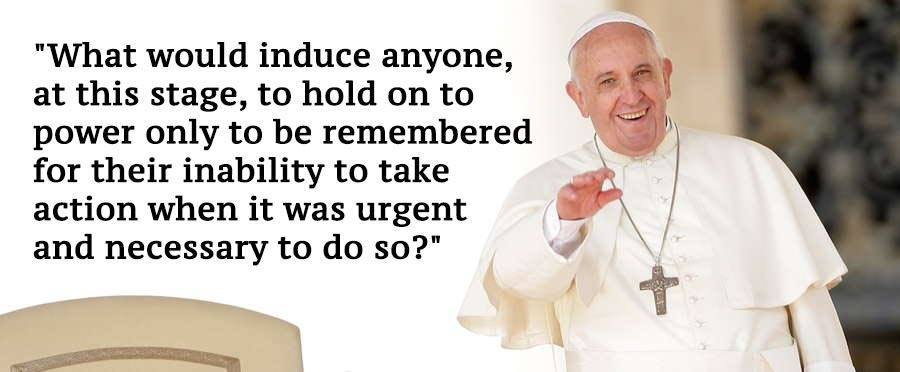 Pope Francis Climate Change Quotes Urgent